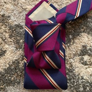 Brooks Bros Purple Striped Classic Tie